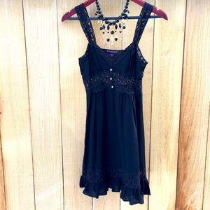 Betsey Johnson slip dress sheer size 2 Vintage